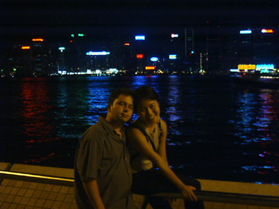 Erica and JF from Kowloon